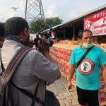 Dua Hari Jelang  Idul Fitri 1441 H, POSPERA DKI Jakarta Bagikan 35.000 Paket Beras.