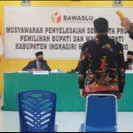 """Gugatan """"Nurani"""" Rusidi Rusdan : Penyelesaian Sengketa Pilkada  Di Inhu Sudah Sesuai Prosedur."""